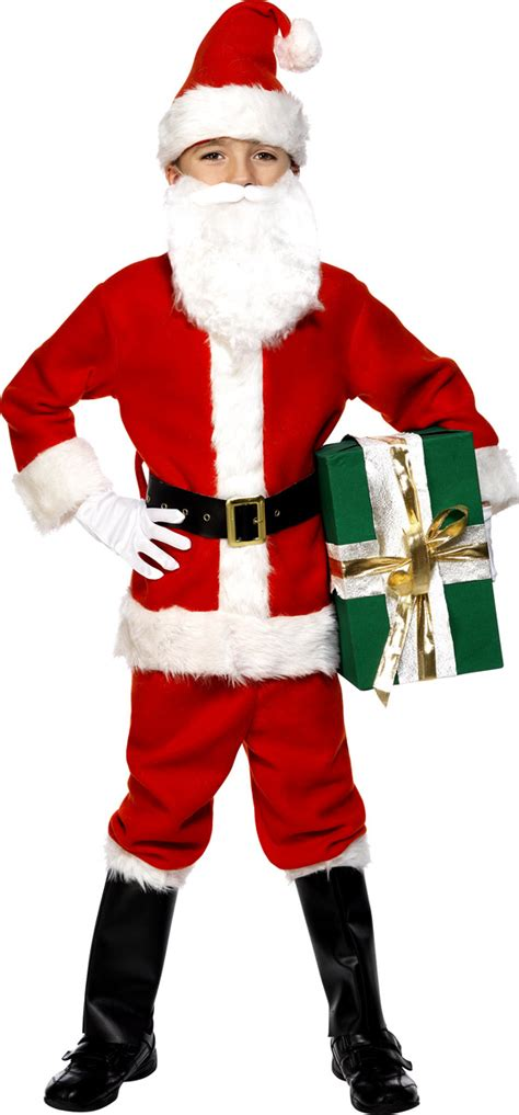 child deluxe santa costume 34584 fancy dress ball