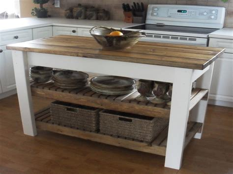 easy kitchen island easy diy kitchen island dresser into kitchen island