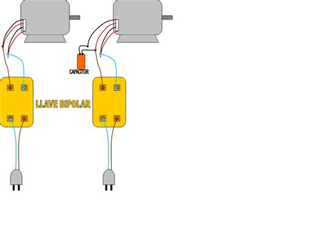 conexion capacitor motor monofasico solucionado conexion motor hormigonera deper yoreparo