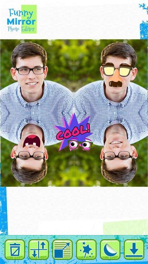 gratis lucu efek cermin pada gambar gratis lucu
