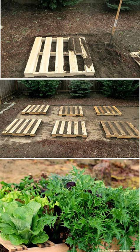 garden ideas with pallets pallet planter ideas diy projects craft ideas how to s