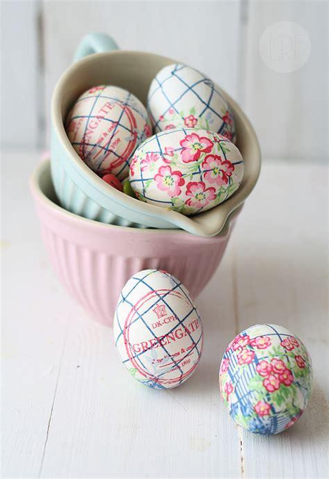 como pegar y decorar huevos de pascua 10 manualidades de pascua decopeques
