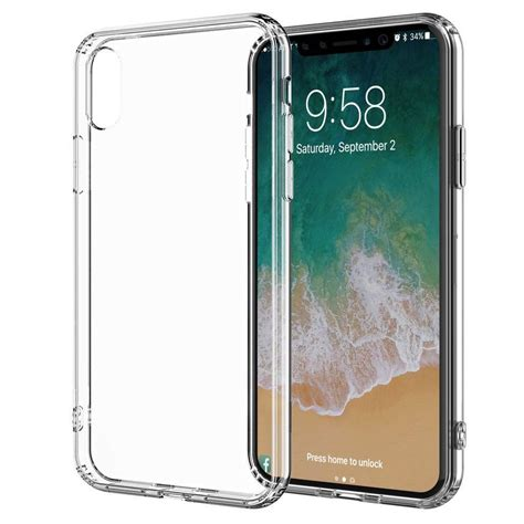 transparent silicone case iphone xr ip