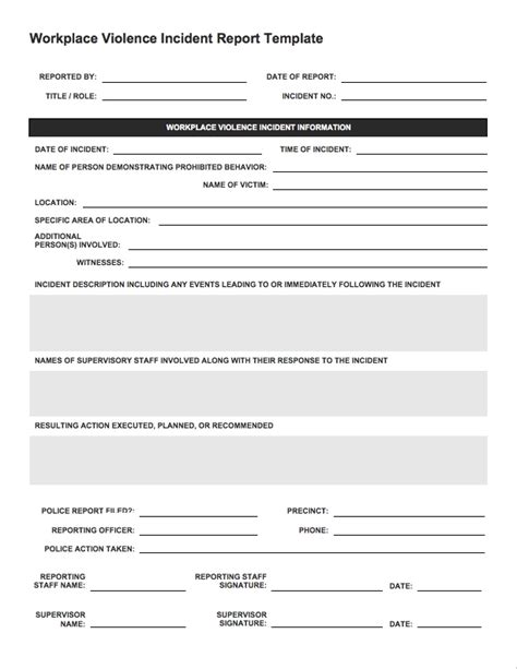 sles of incident reports sles of incident reports 28 images aid report form