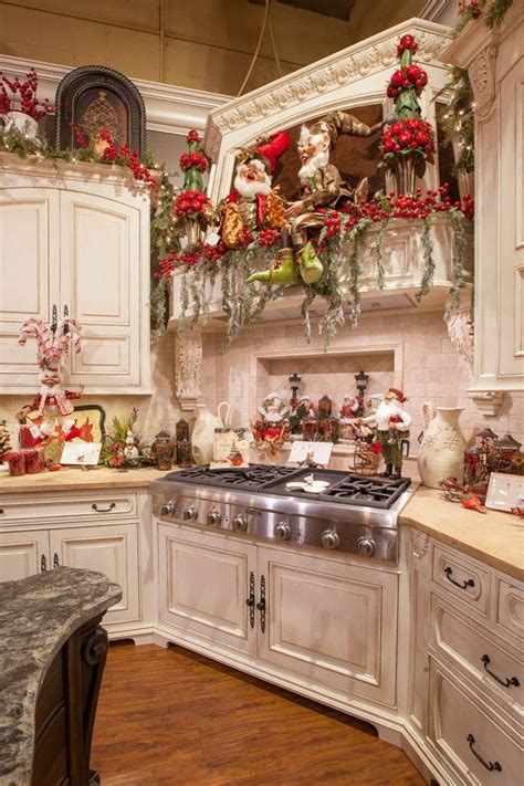christmas kitchen ideas top 40 holiday decoration ideas for kitchen christmas