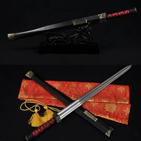 Real Handmade Swords - aliexpress buy real handmade sword han jian