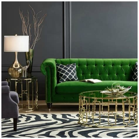 emerald green decor home decorating community