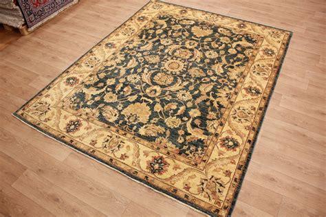 ziegler teppiche quot ziegler quot teppich orientteppich 306x238 cm blau perserteppiche