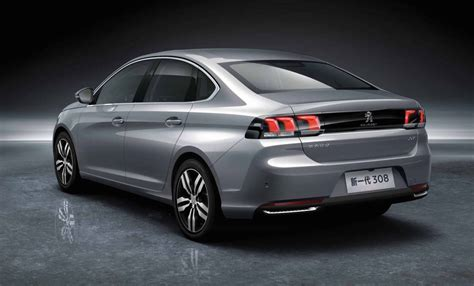 New China Only Peugeot 308 Sedan 3008 Revealed