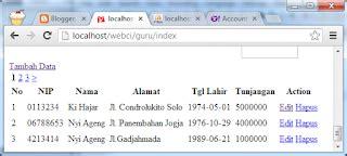 membuat link halaman di codeigniter membuat halaman paging untuk menilkan data pada