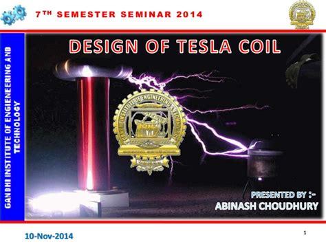 Shares Of Tesla Design Of Tesla Coil By Abinash