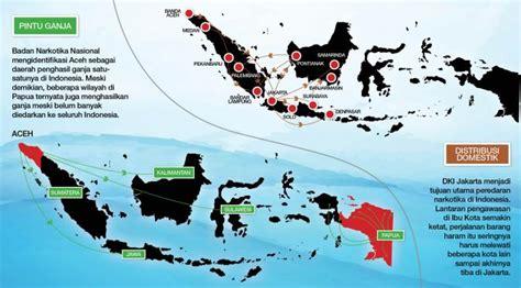 film indonesia yang menceritakan narkoba infografis peta penyelundupan narkoba di indonesia news