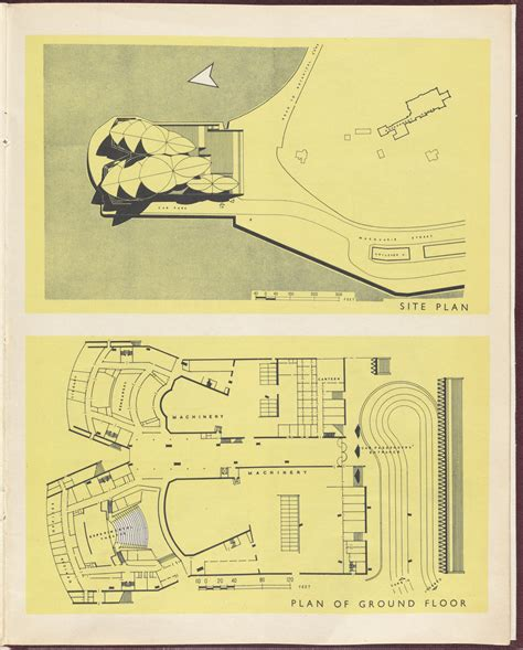 opera house floor plan quot sydney opera house quot quot gold book quot state archives and