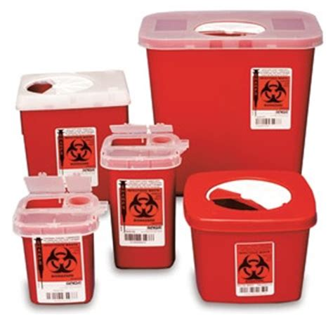 Safety Box Biohazard Biohazard Sharps And Waste Disposal In California