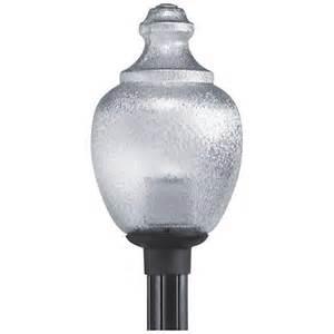 Outdoor Globe Post Light Fixtures Globe And Acorn 20 Quot High Black Outdoor Post Light 3d315 Www Lsplus