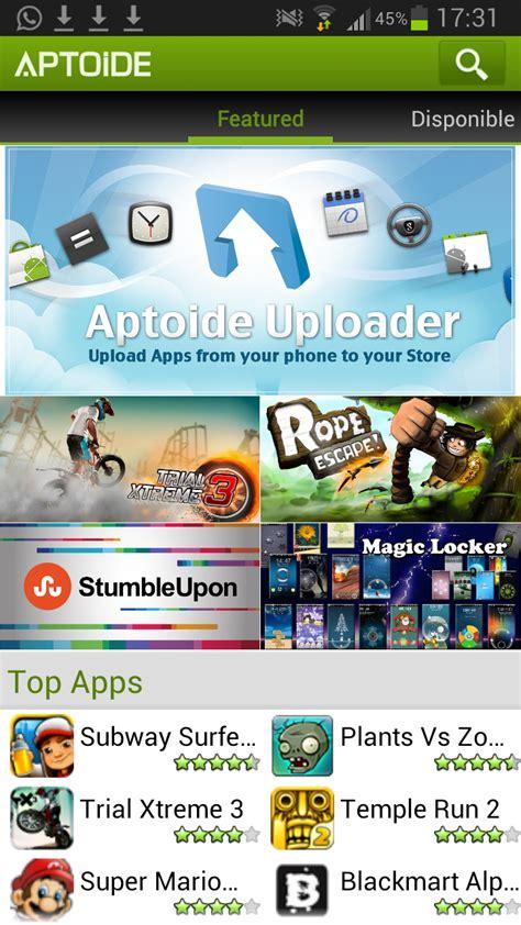 aptoide app descargar aptoide en android dwiyokos
