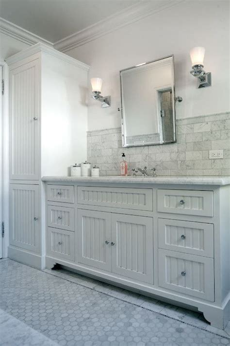 long bathroom vanity jwt associates bathrooms beadboard front vanity