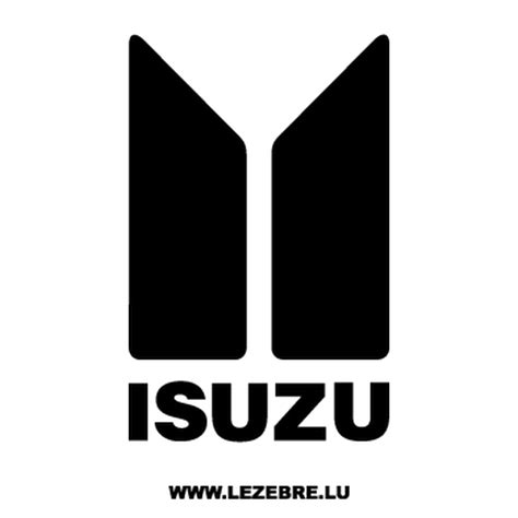 isuzu logo isuzu logo ancien decal 2