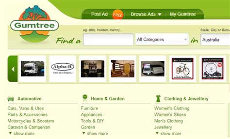 gumtree free classified ads from the 1 classifieds site editing gumtree ads isn t always free lifehacker australia