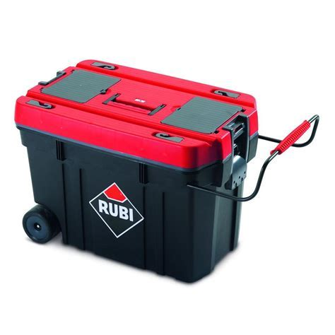 Rubi 24 in. Rolling Tool Box 71954   The Home Depot