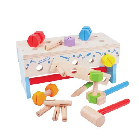 wooden toy work bench wooden toy workbench bright lights