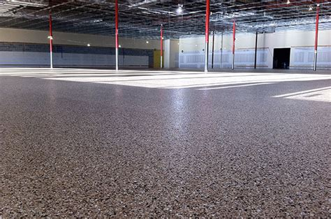 choosing the correct floor finish for warehouses t w hicks inc