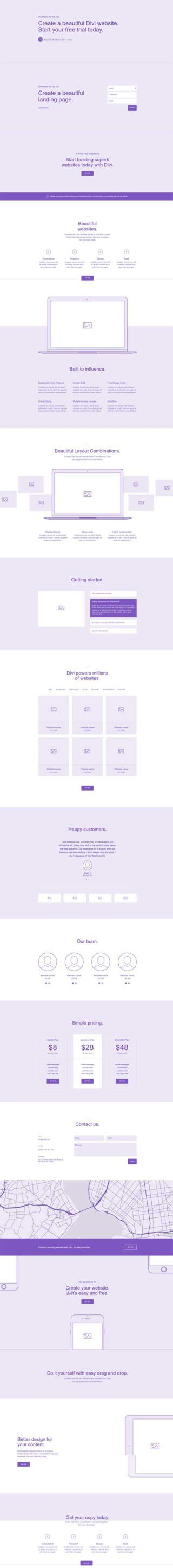 Real Estate Layouts For Divi On Divi Theme Layouts Divi Layout Templates