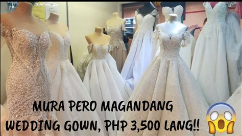 divisoria wedding gowns php lang  mura na