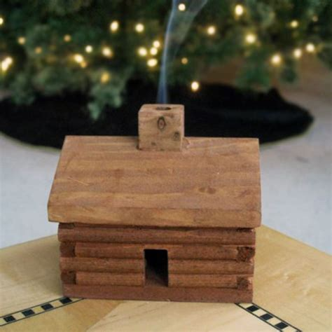 Log Cabin Incense Burner log cabin incense burner the green