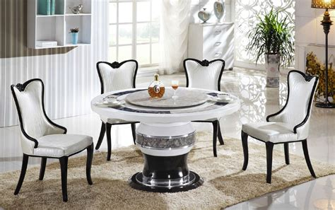 black marble round top modern dining table round marble dining table for 4 loccie better homes