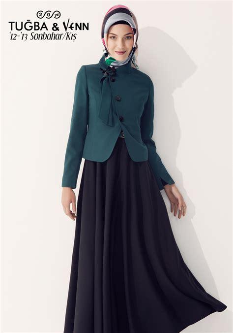 Coat Mocca Pakaian Muslimah Modis Fashion Muslim tu茵ba venn 12 13 sonbahar k莖蝓 jacket with dress 12 13 sonbahar k莖蝓