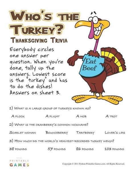 best thanksgiving trivia question 12 best thanksgiving printable images on thanksgiving thanksgiving and