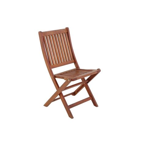 folding patio chairs home depot folding wooden patio chair 2 pack 2066700700 the home