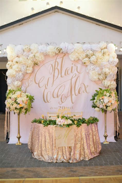Wedding Backdrop With Flowers by Floral Backdrops For Weddings Design Indulgences