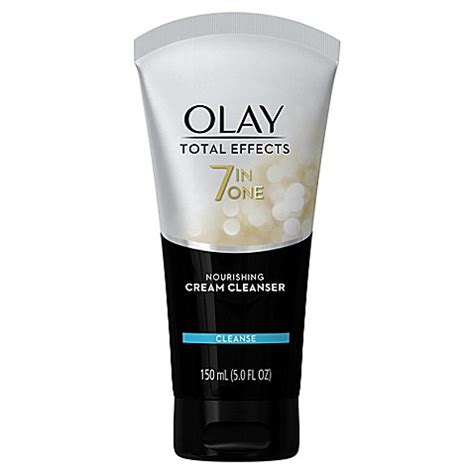 Olay Total Effect Kemasan Kecil olay 174 total effects 174 5 fl oz 7 in one nourishing cleanser bed bath beyond