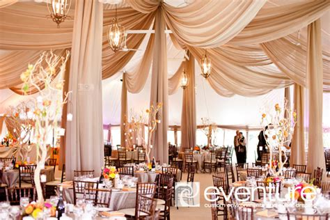drapes for ceiling wedding reception fabulous drapery ideas for weddings belle the magazine