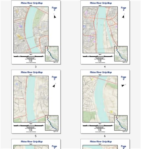 layout grid arcgis adding dynamic text to a strip map help arcgis for desktop