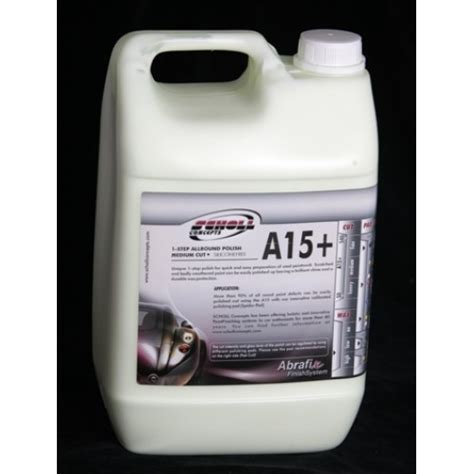 Mba Steel Msds by A15 Allround 5l