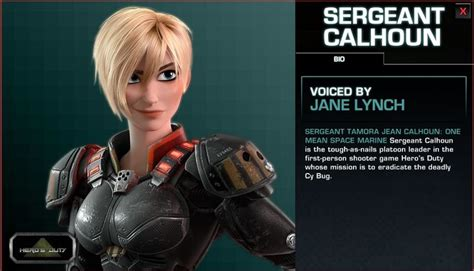 sergeant calhoun hairstyle character bio for sergeant calhoun from wreck it ralph i