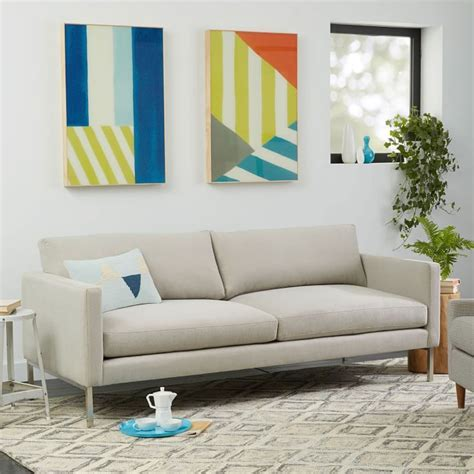 west elm montgomery sofa soften up the high line sofa comes in a range of