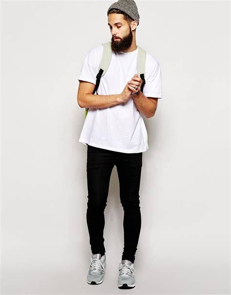 Shoes T Shirt dr style white shirt black sneakers beanie