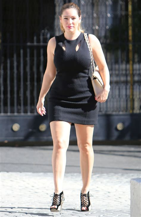 kelly house kelly brook in mini dress out for lunch in little house los angeles november 2014