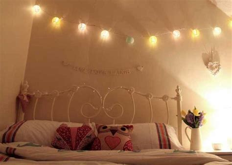 String Lights Ideas Bedroom Flower String Lights For Bedroom Bedroom Review Design