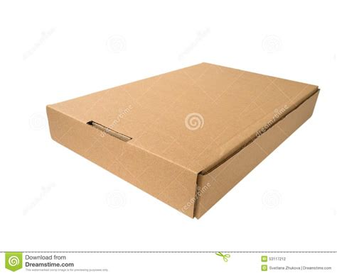 Fret Flat Cardboard Speakers by Flat Cardboard Box Stock Photo Image Of Shop Brown