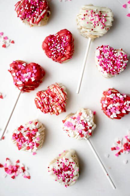heart cake pops valentines day treat   ideas  kids