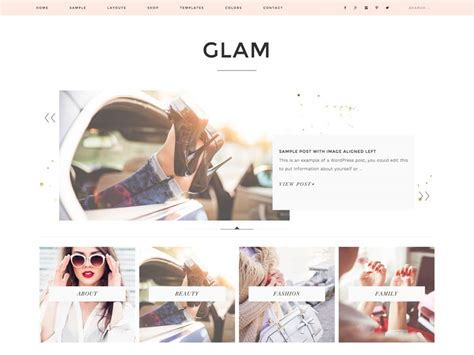 layout fashion blog 30 best fashion blog magazine wordpress themes 2018