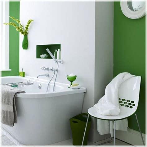 green and white bathroom ideas simple white and green bright bathroom interiors and