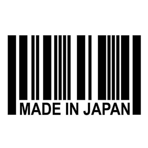 Jdm Sticker Made In Japan Map made in japan barcode sticker jdm vinyl decal sticker great for your car truck window bumper in