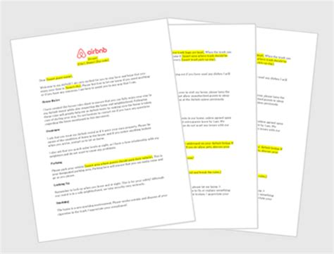 airbnb rules airbnb house rules template airbnb guide