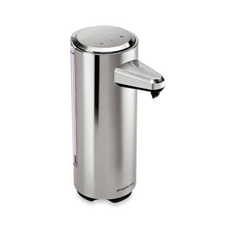 brushed nickel soap dispenser bathroom soap dispenser bathroom sensor pump brushed nickel rechargeable 8 oz chrome new ebay